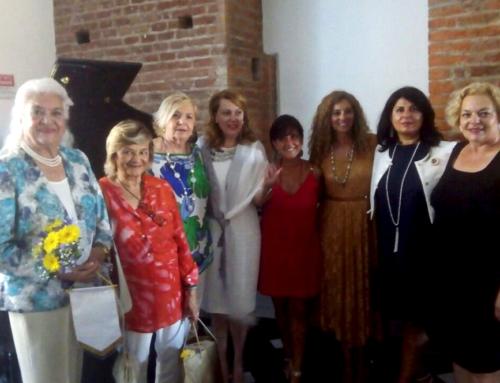 Daphne Carlo Borsotto ha ricevuto il premio eccellenza donna dall'Associazione FIDAPA-BPW Italy
