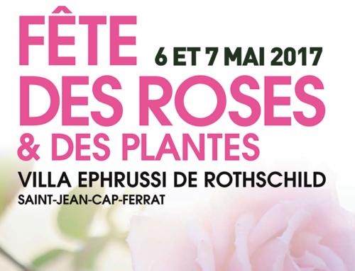 La collezione Rose su seta di DAPHNÉ al Festival floreale di Villa Ephrussi de Rothschild