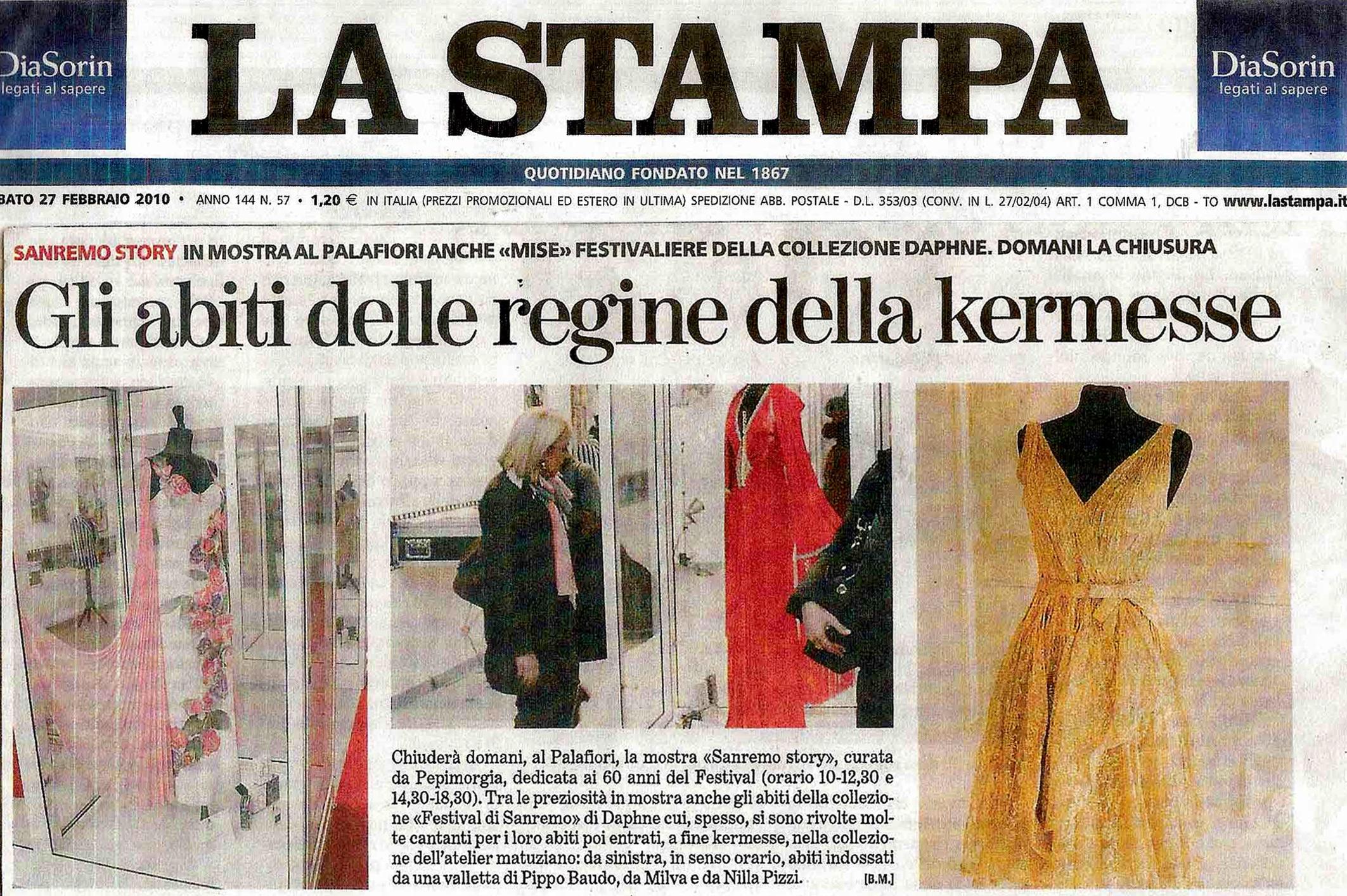 Mostra 60 anni Festival di Sanremo bis