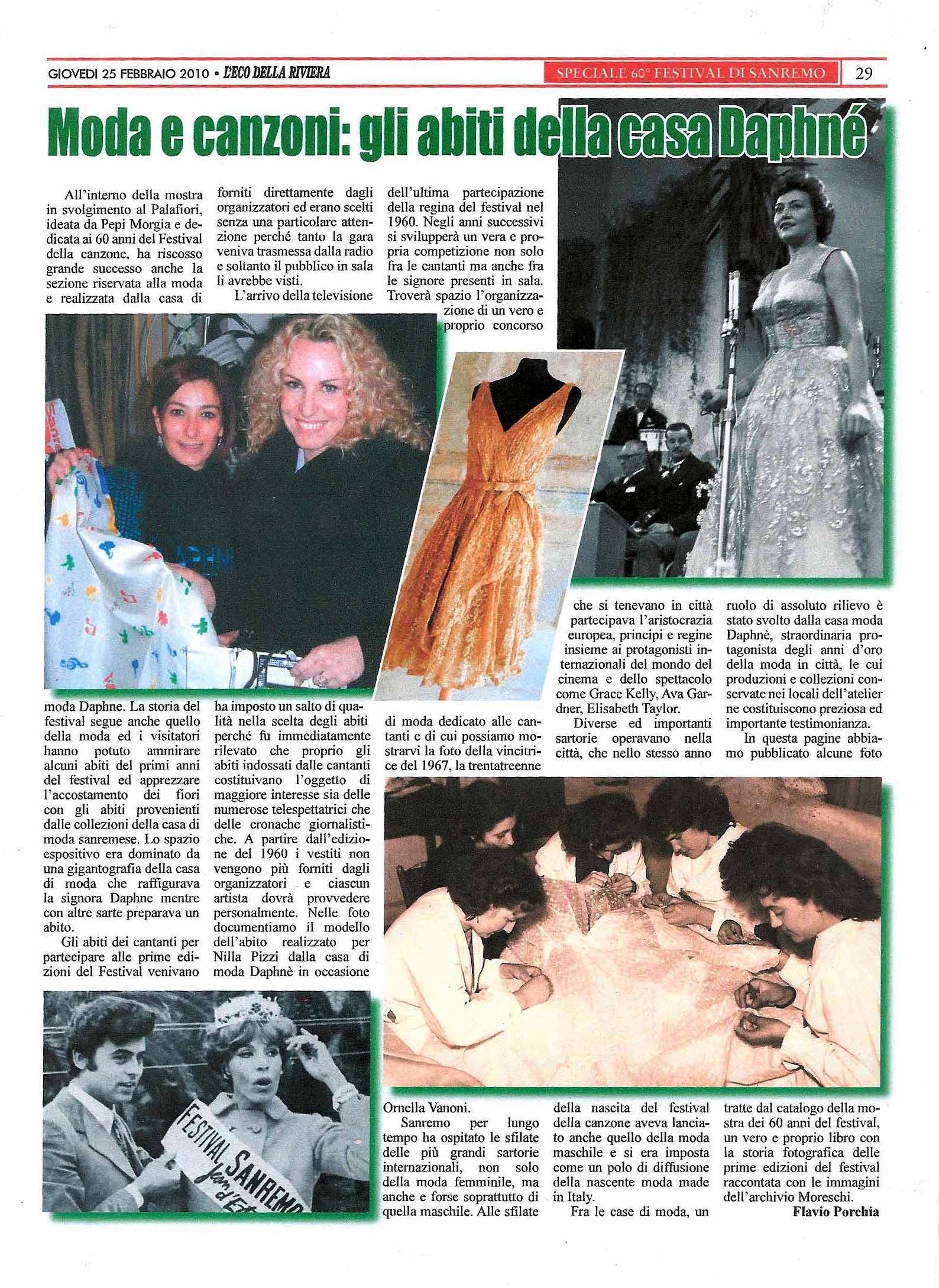 Mostra 60 anni Festival di Sanremo