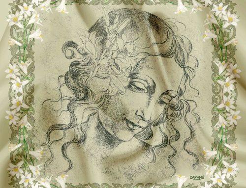 Un foulard Made in Italy per celebrare Leonardo da Vinci