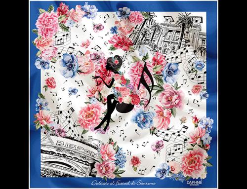 Il foulard dedicato al 70° Festival di Sanremo