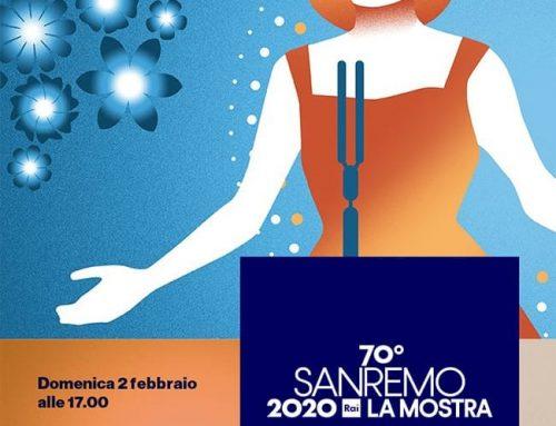 Sanremo 70 – l'abito rosso di Dalida in mostra a Santa Tecla
