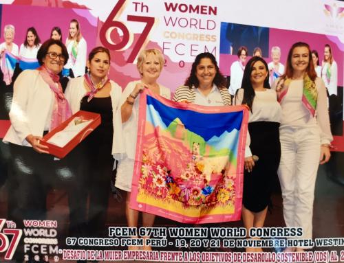 Perù, il paese dai mille colori immortalato in un foulard per il 67th World Congress FCEM