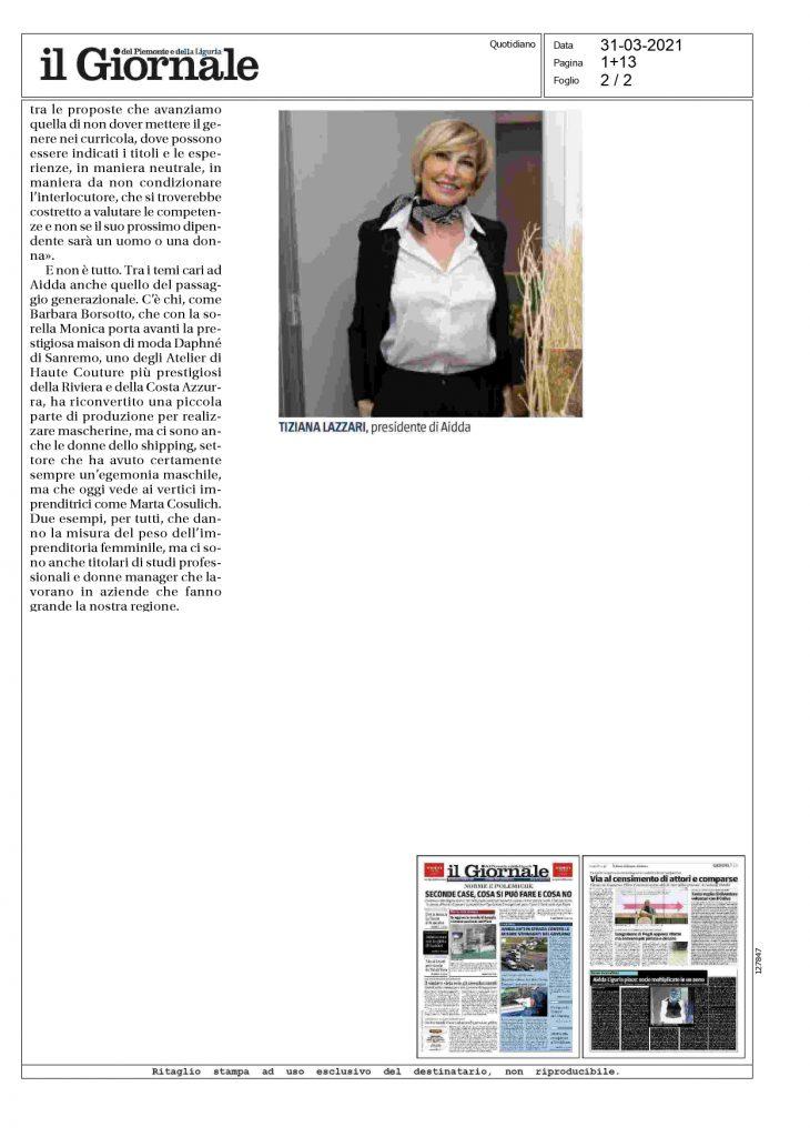 Articolo Barbara Borsotto