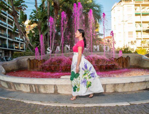Sanremo e la Riviera dei fiori negli scatti della nuova campagna DAPHNÉ 2021